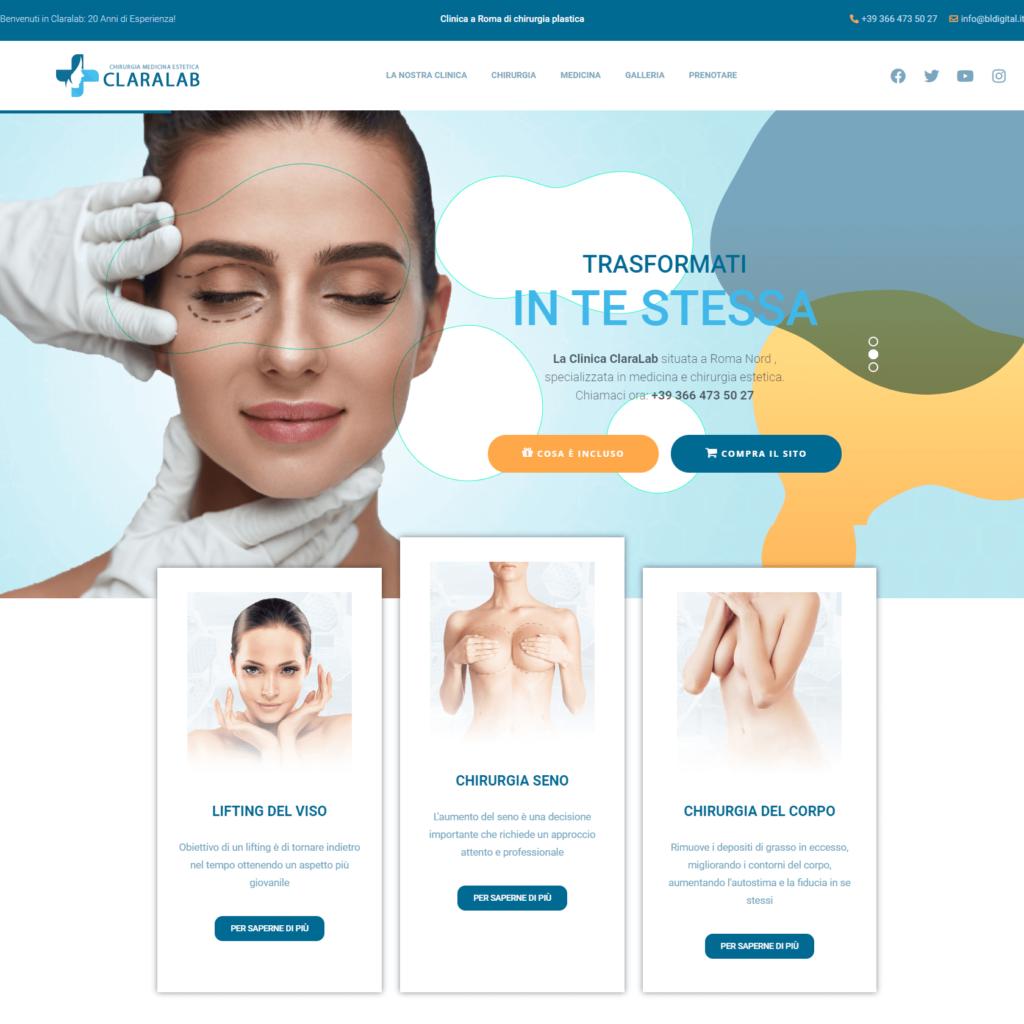Chirurgico Estetico sito internet