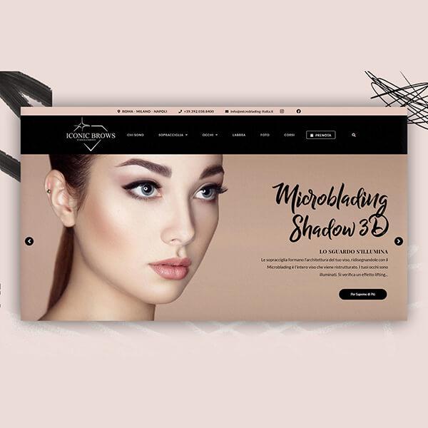 Microblading website