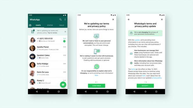 WhatsApp: il Controverso Aggiornamento dei Termini di Servizio è Tornato 1