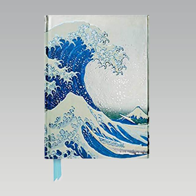Carnet de Note La Grande Vague de Kanagawa Hokusai